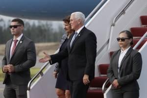Mike Pence, vicepresidente de EE.UU., llega a Ecuador para impulsar relación bilateral