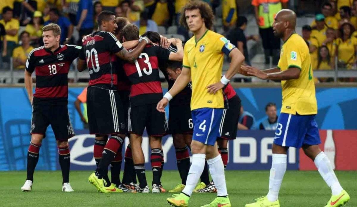 Alemania goleó a Brasil en su propia casa.