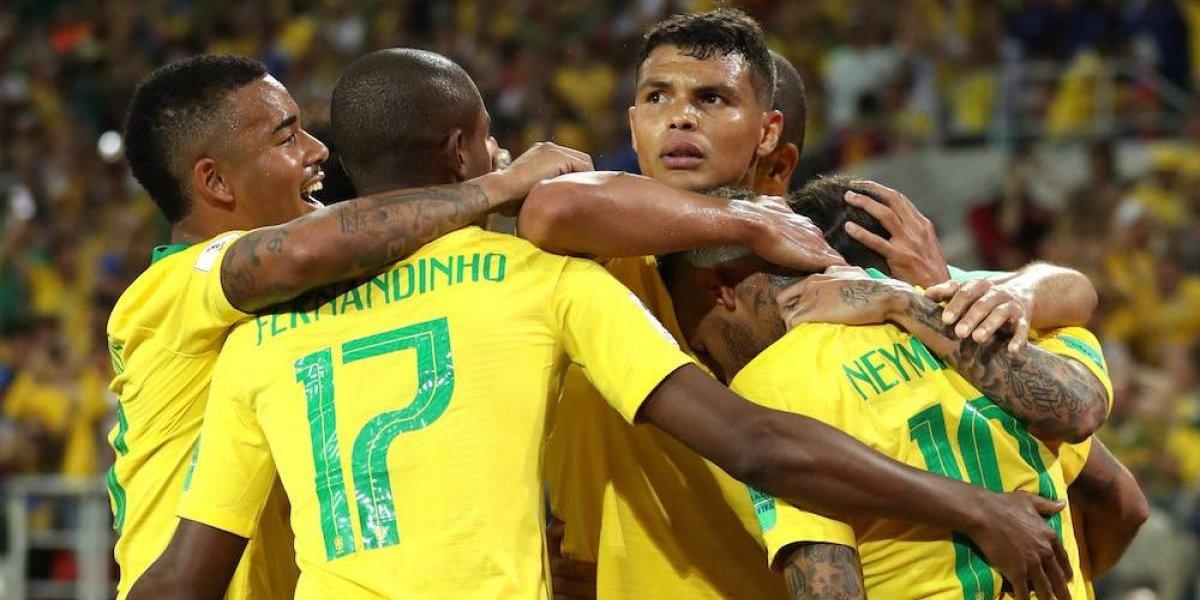 Brasil despacha a Serbia y será rival de México en octavos de final