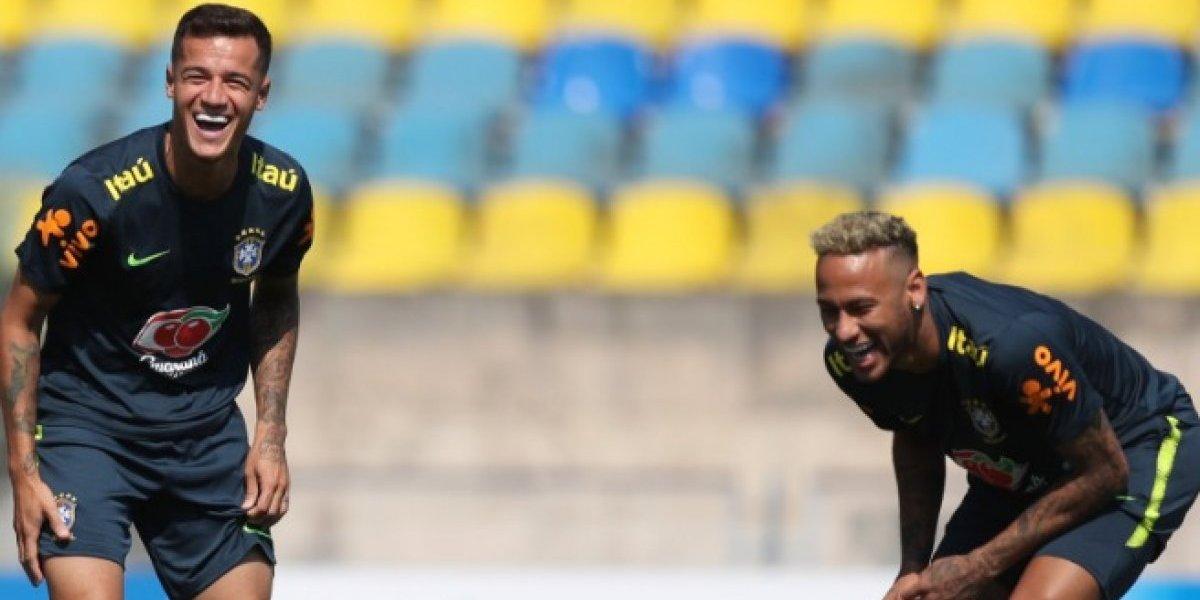 Copa do Mundo:  A mensagem de Neymar e Coutinho antes do jogo do Brasil x Sérvia