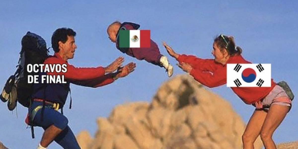 México perdió... pero clasificó a octavos gracias a Corea y así les agradecieron