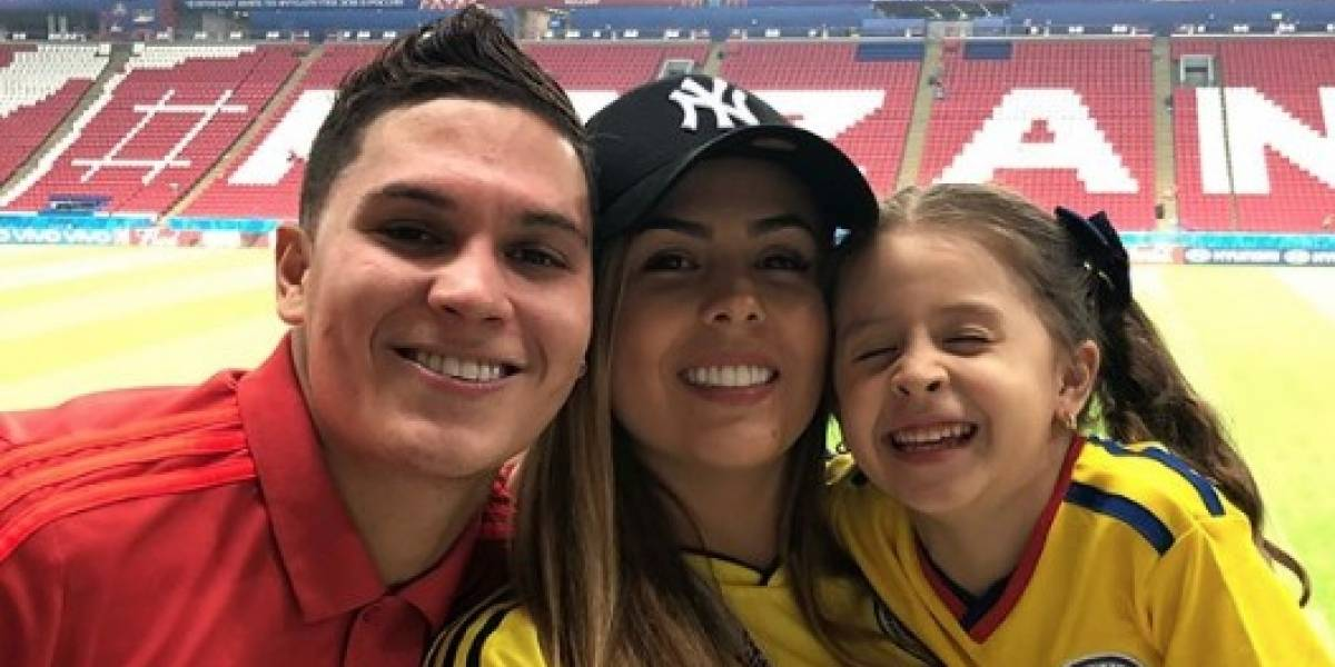 La sensual esposa del jugador de la Selección Colombia, Juan Fernando Quintero