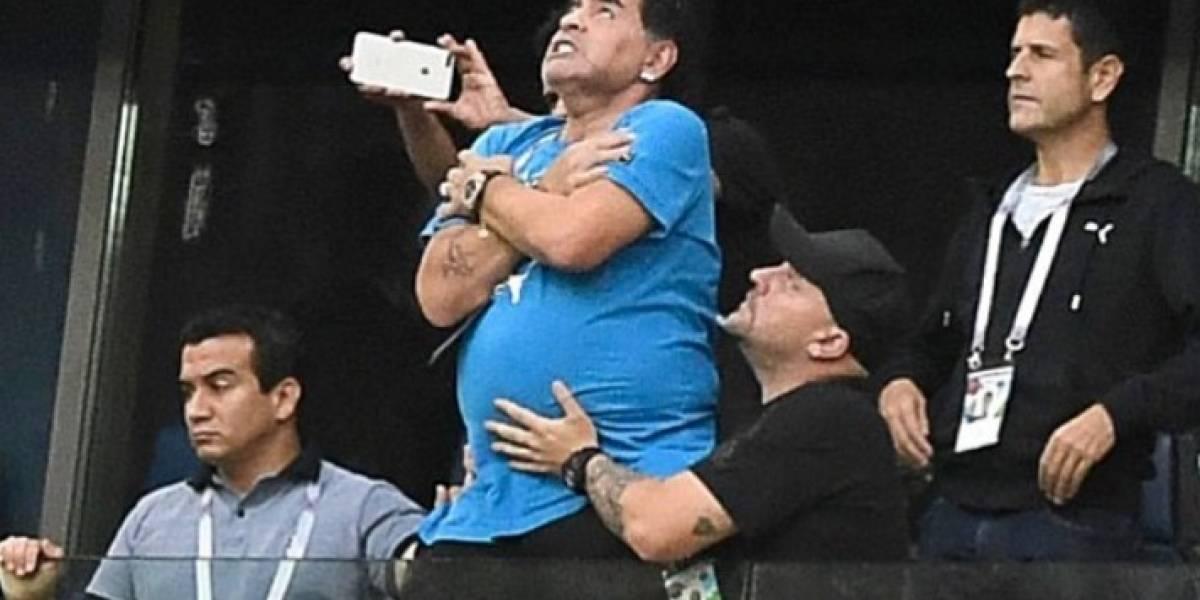 Memes: las portadas de rock y metal que dejó el bochornoso actuar de Maradona
