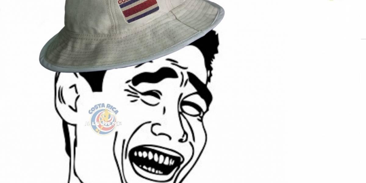 """Costa Rica se despide del Mundial y así le dicen """"adiós"""" las redes sociales"""