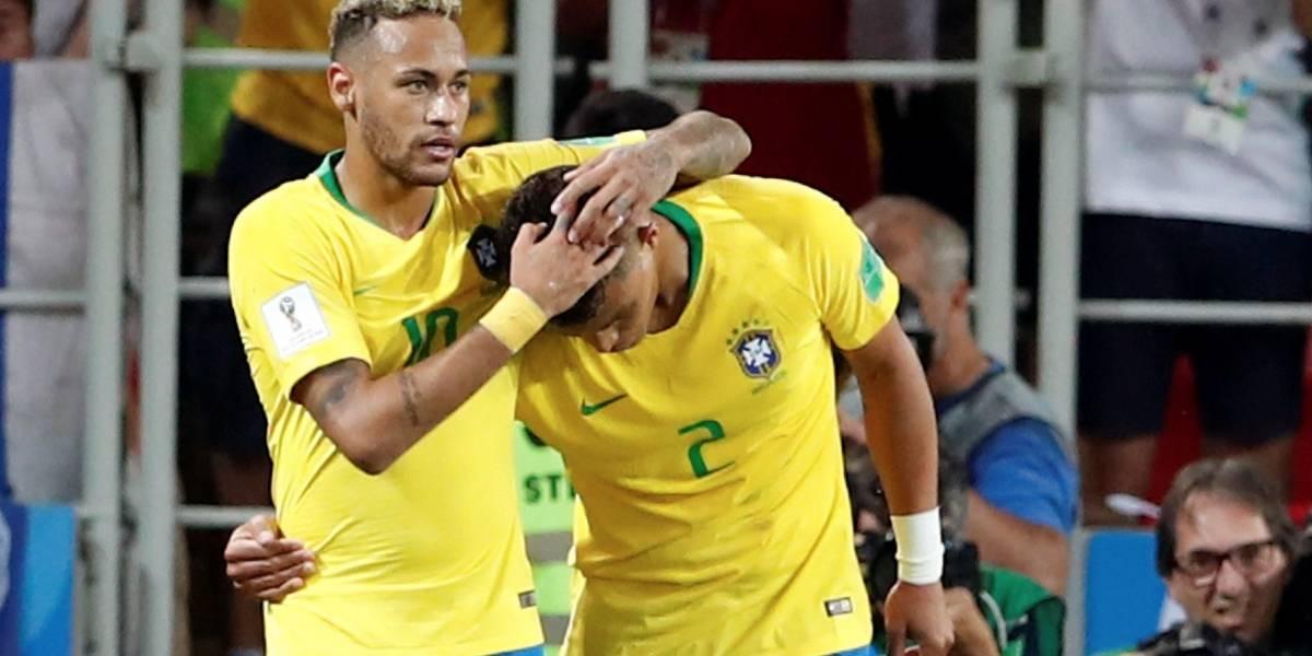 Brasil se reivindicó y clasificó a octavos de final