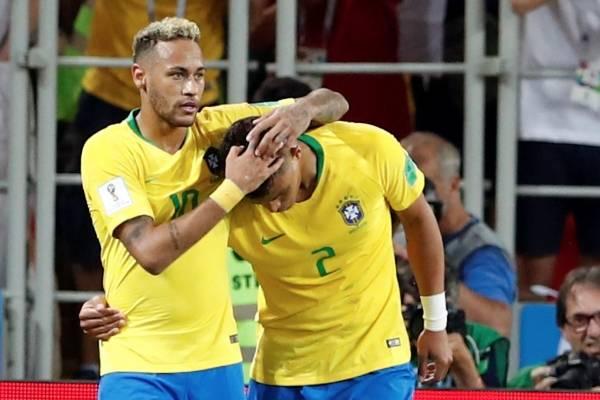 Video del gol de Paulinho con Brasil VS Serbia