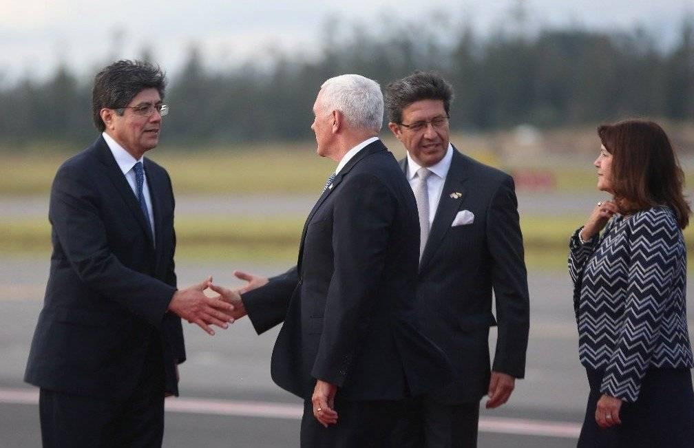 Mike Pence, vicepresidente de EE.UU., llega a Ecuador para impulsar relación bilateral Presidencia Ecuador