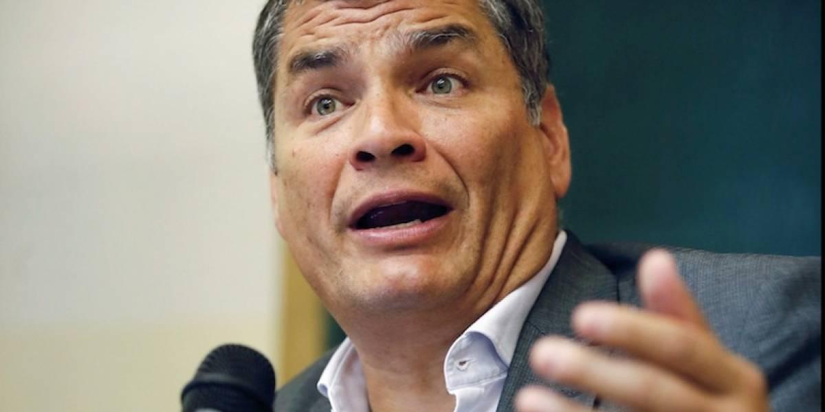 Rafael Correa habló de Radio Pichincha Universal y Juan Zapata