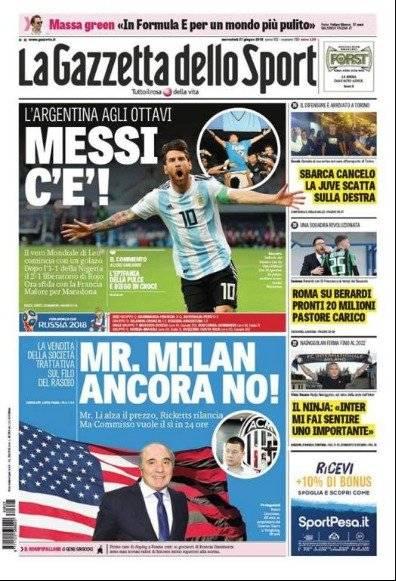 La Gazzetta dello Sport Italia