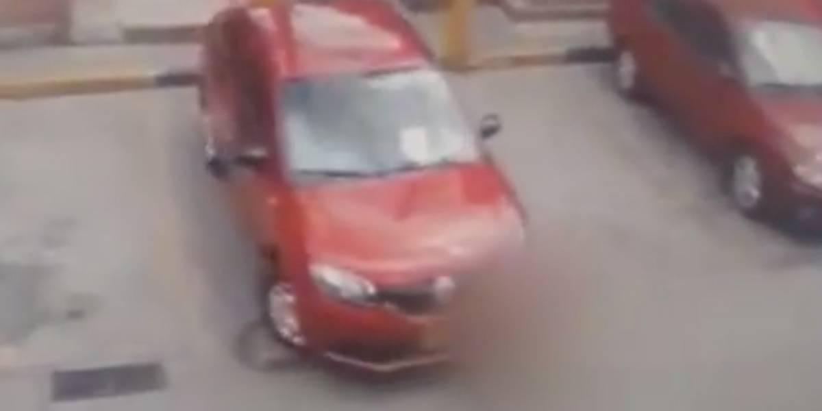 Niño fue arrollado por el auto de un vecino y se encuentra en delicado estado de salud