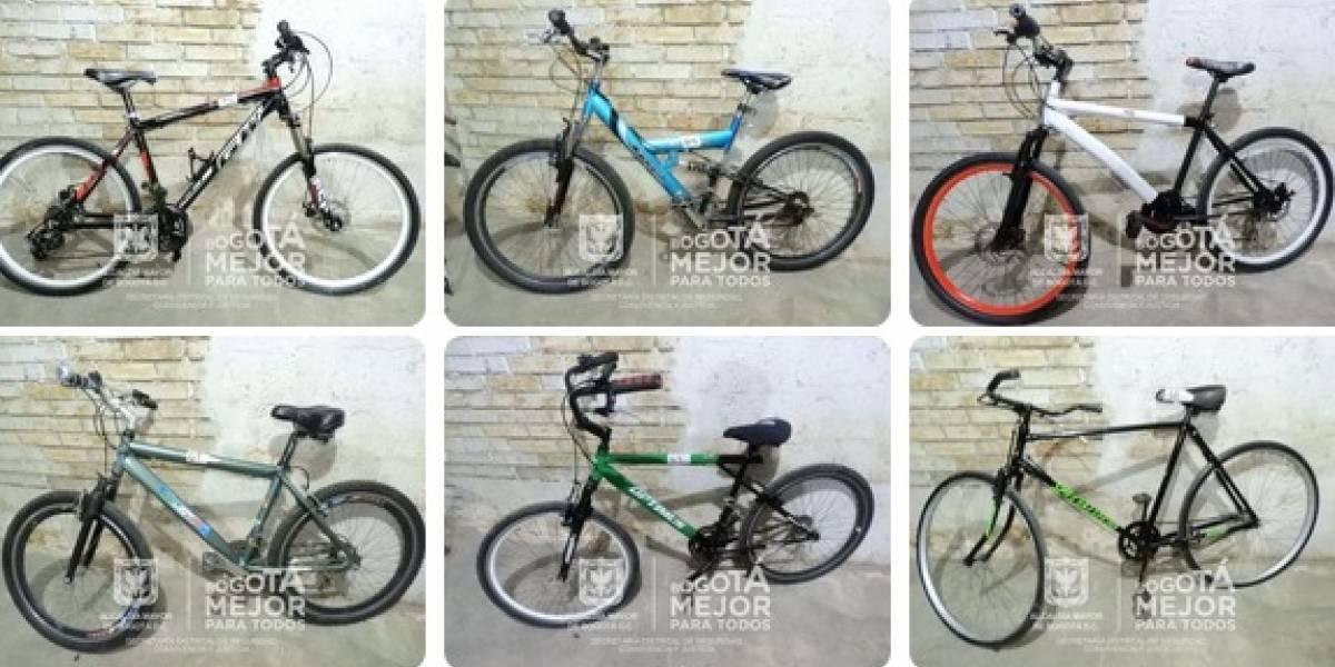 Consulte en esta página si apareció su bicicleta robada en Bogotá