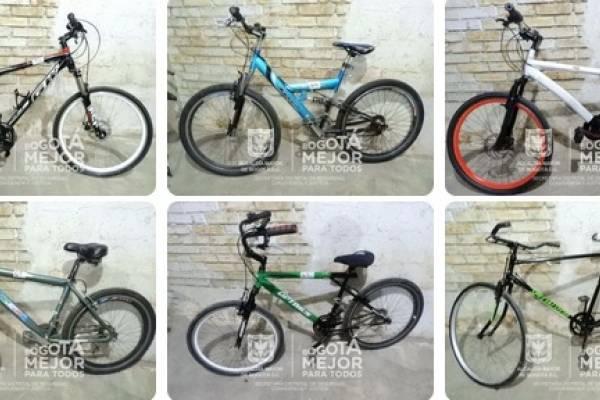 bicicletas robadas Bogotá