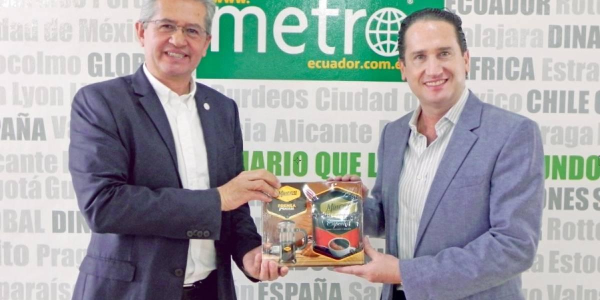 Ecuador crece con el sabor de café Minerva