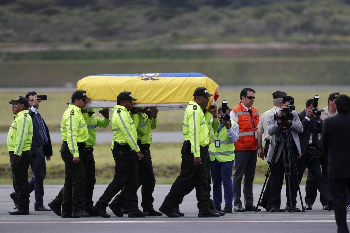 cuerpos periodistas El Comercio llegan a Ecuador EFE