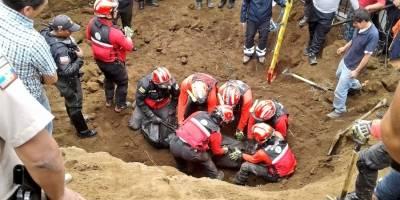 Persona falleció tras deslizamiento de tierra en Santa Bárbara