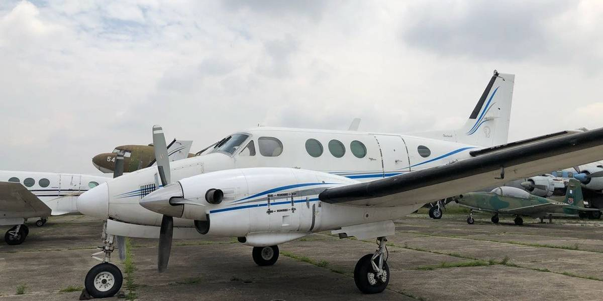Avioneta de grupos delictivos pasa a favor del Estado