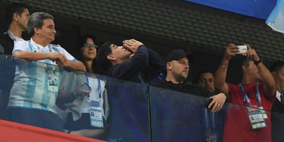 Salud de Maradona enciende nuevas alarmas en Rusia