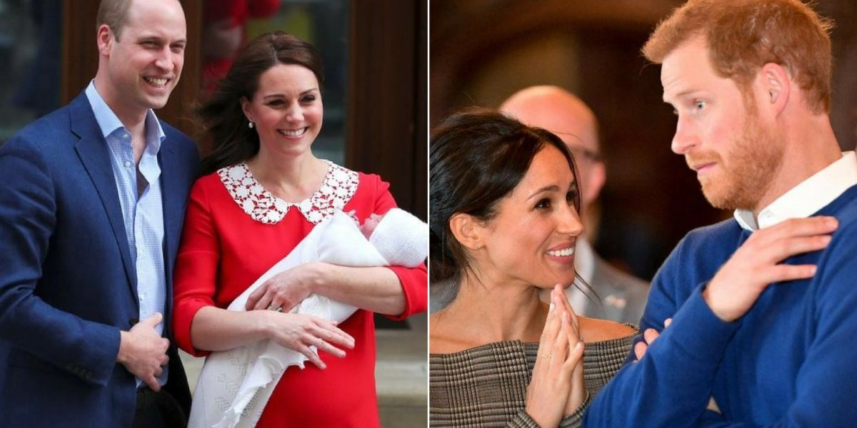 Descartados? Meghan Markle e Harry não seriam padrinhos do príncipe Louis Arthur