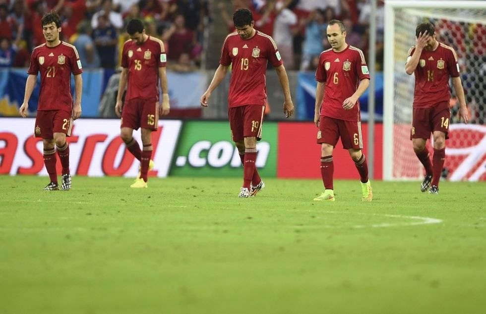 España fracasó en Brasil 2014