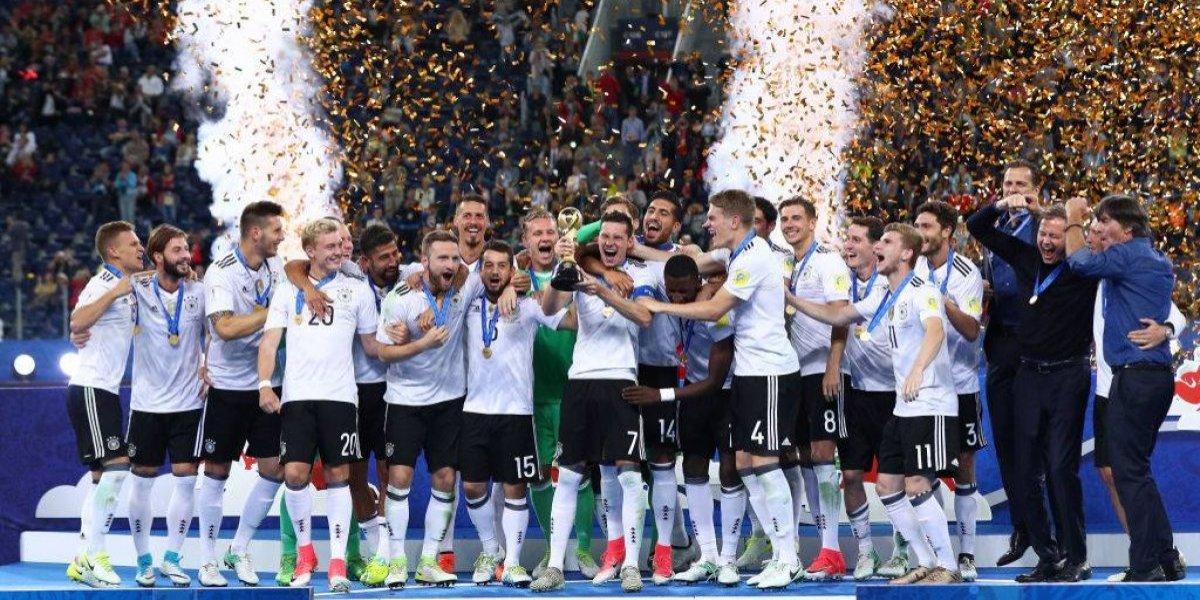 Alemania es la nueva víctima de la maldición del campeón de la Confederaciones