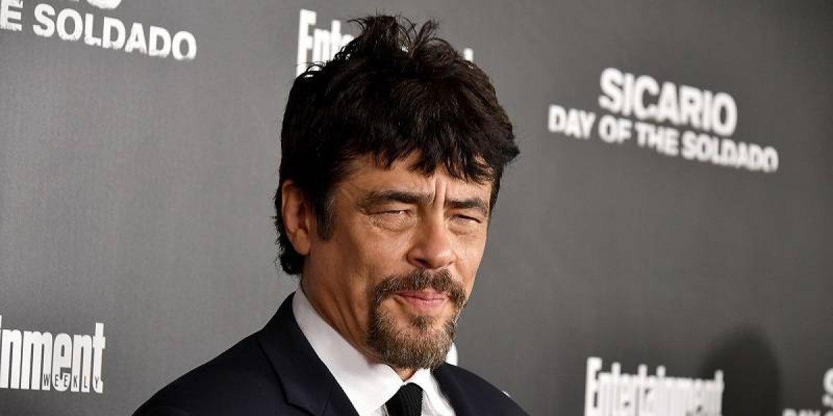"""Benicio del Toro: """"La violencia no se combate con más violencia"""""""