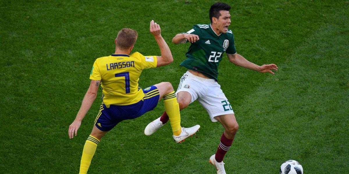 Así vivimos la goleada de Suecia sobre México que terminó eliminando a Alemania