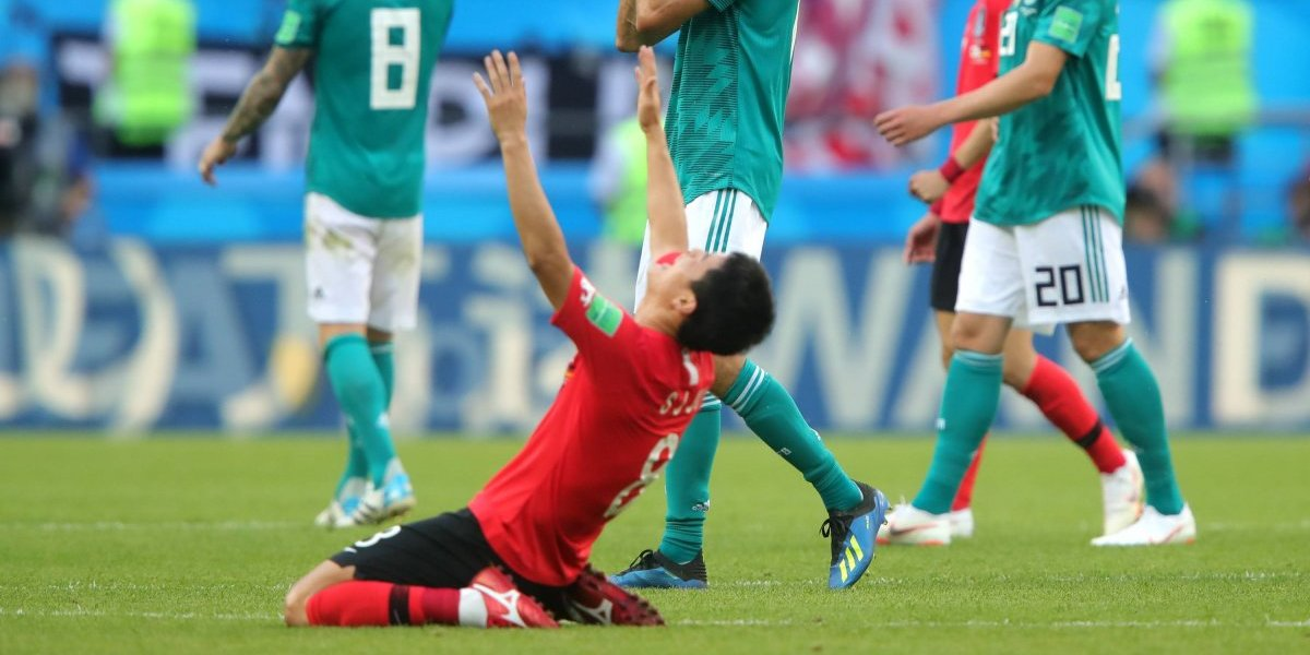 Corea del Sur da la sorpresa y elimina al campeón