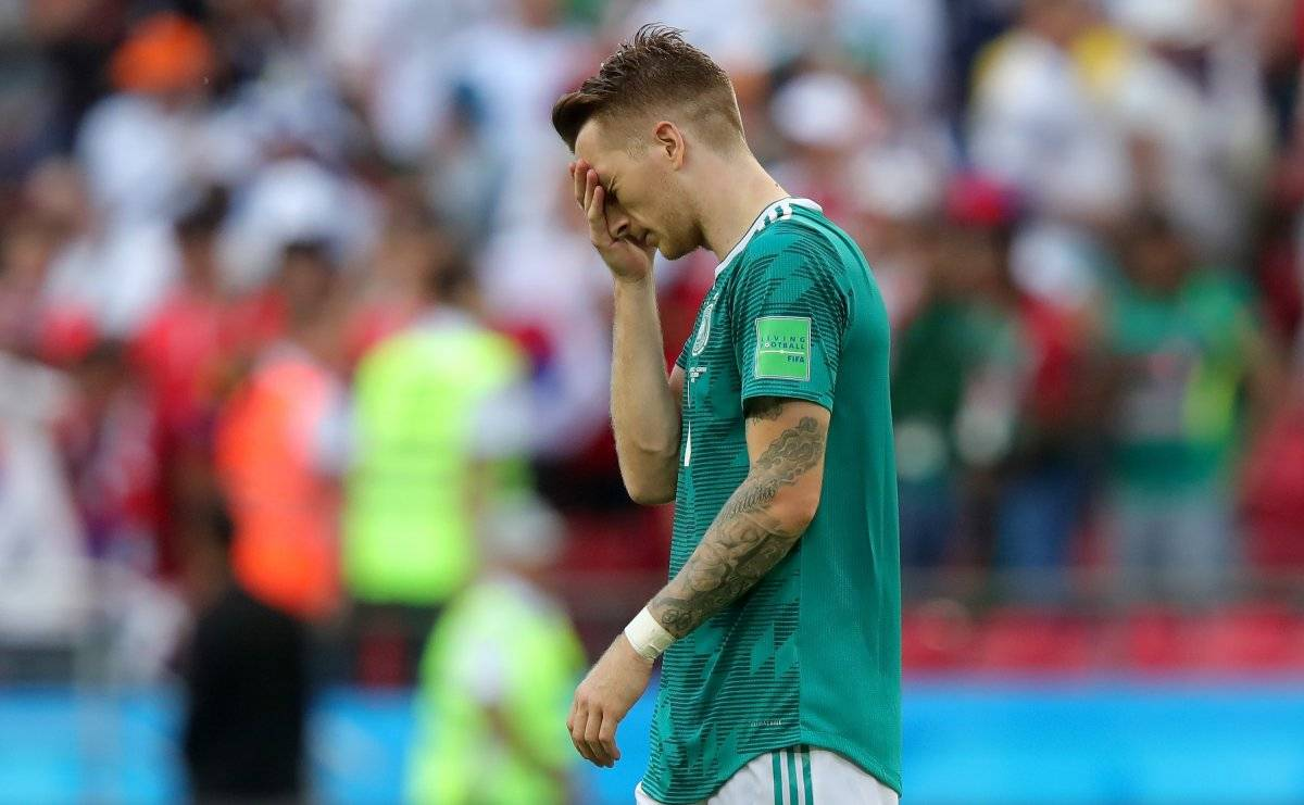 Alemania lloró la eliminación / imagen: Getty Images