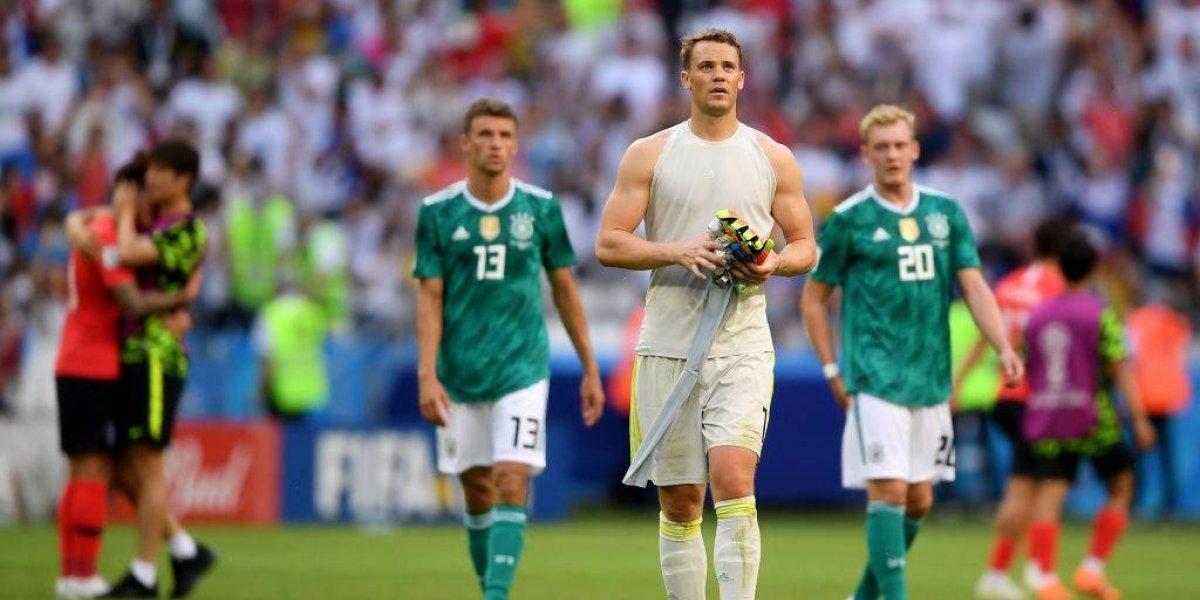 ¡Bochorno sin precedentes! Alemania consuma su mayor fracaso en la historia de los Mundiales