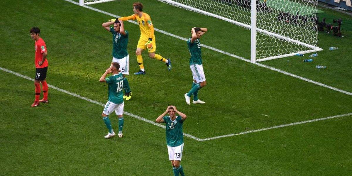 """""""Sin palabras"""": diario alemán replicó el mismo titular del 7-1 a Brasil para la traumática eliminación en Rusia 2018"""