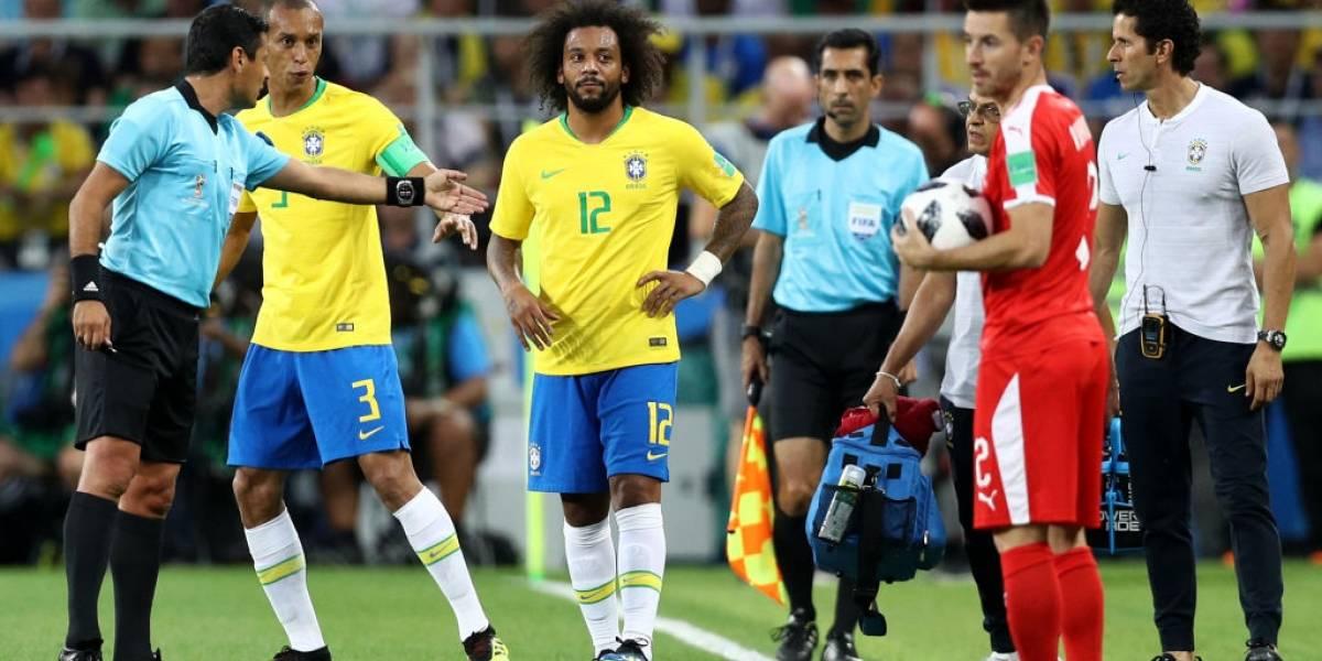 Marcelo encendió las alarmas en Brasil y su futuro en el Mundial es incierto