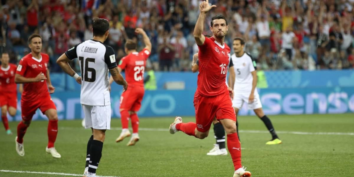 Suiza se metió en octavos de final del Mundial tras empatar un loco partido con Costa Rica
