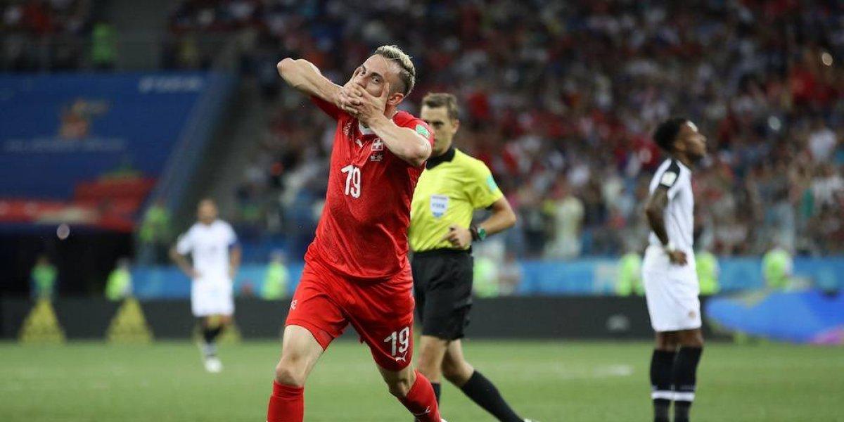 Suiza empata con Costa Rica y se clasifica a octavos de final