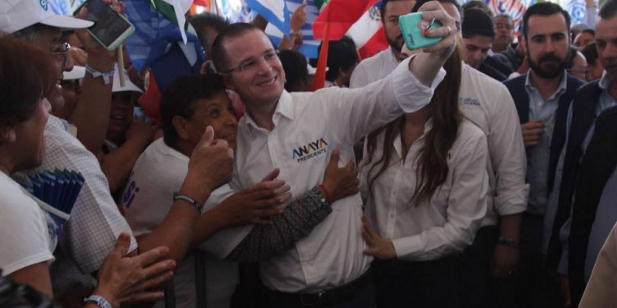 Anaya cierra campaña en León confiado en el voto útil
