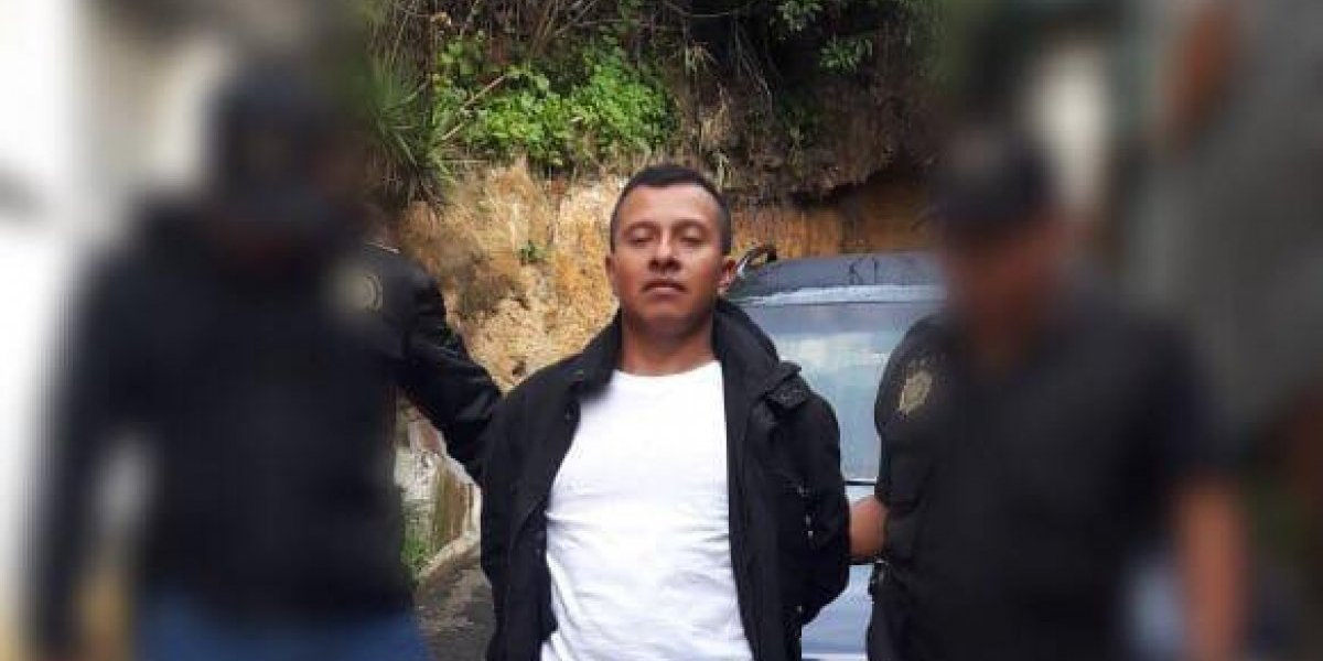 Capturan a policía municipal de Mixco señalado de agresión sexual