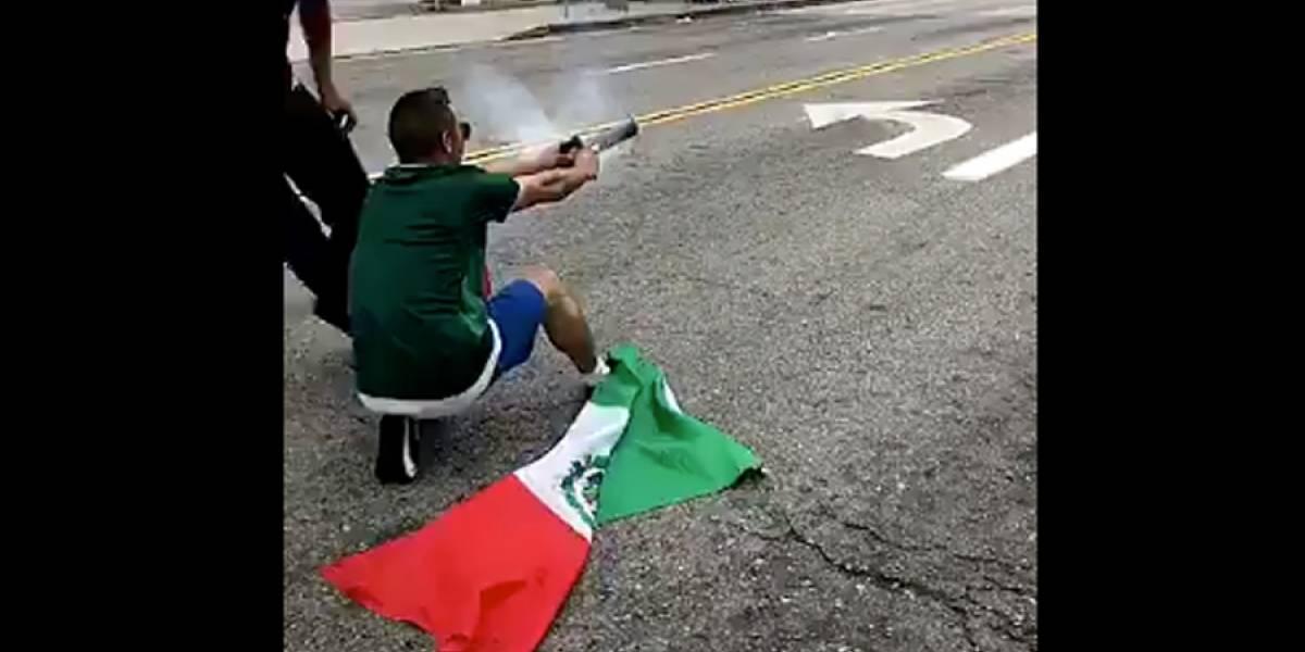 VIDEO. Un hincha de México enfrenta 27 años de cárcel por explosiva celebración en EE.UU.