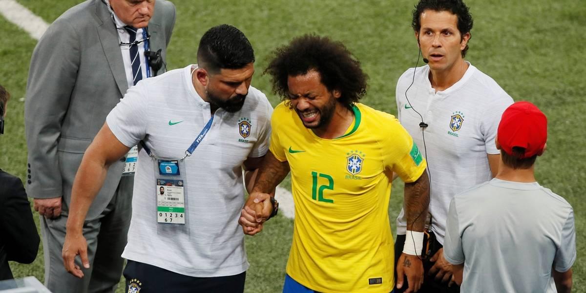 Brasil x Sérvia: CBF esclarece motivo para saída de Marcelo