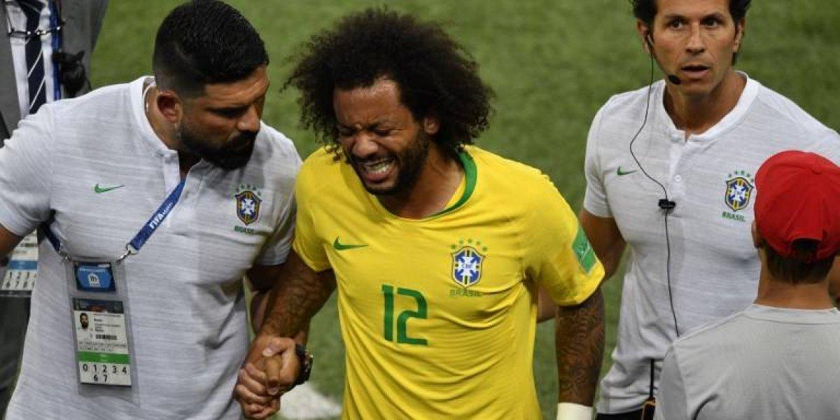 ¿Qué lepasó a Marcelo? Salió llorando y encendió las alarmas en Brasil