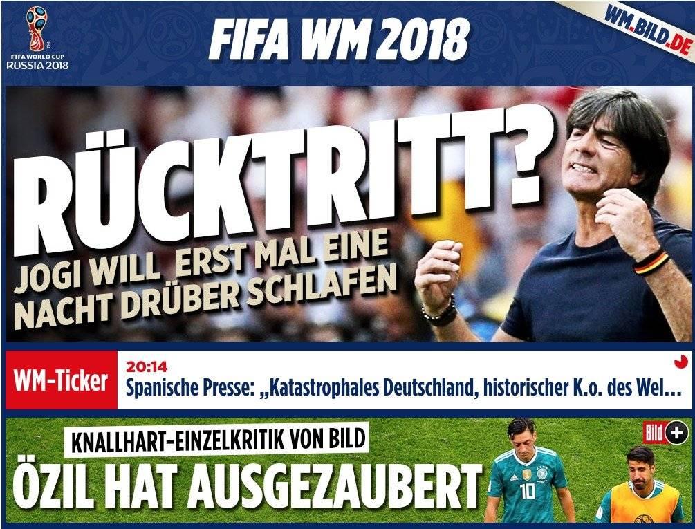 Reacción de medios alemanes