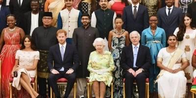 Meghan Markle, Harry y la Reina Isabel