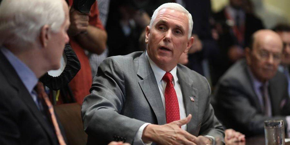 El Triángulo Norte y el vicepresidente Pence hablarán de migración