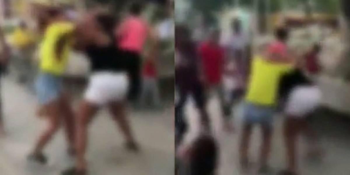 Video: bochornosa pelea en Santa Marta entre colombianas y venezolanas