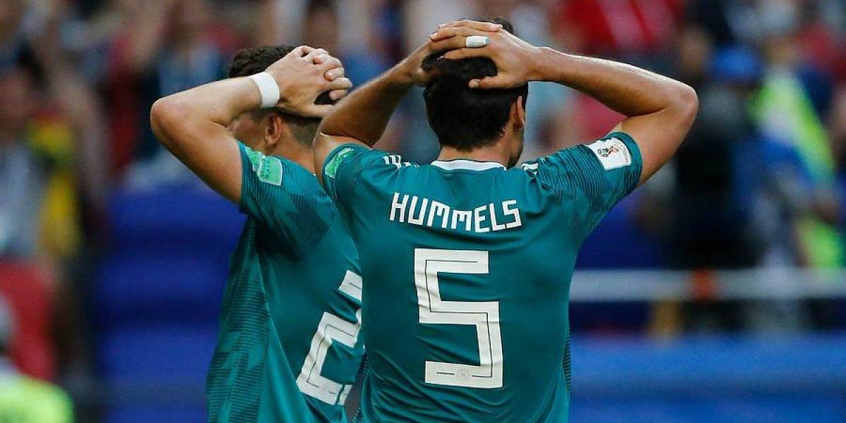 Alemania se suma a la maldición del campeón mundial que azota a Europa en el siglo XXI