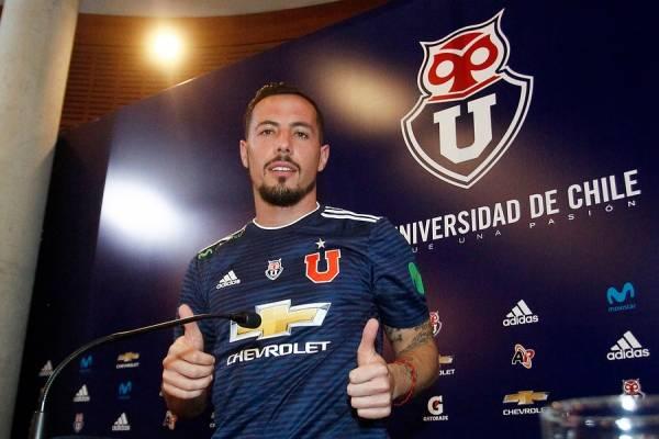 Sebastián Ubilla vivirá su segunda etapa como jugador de la U / Foto: Photosport
