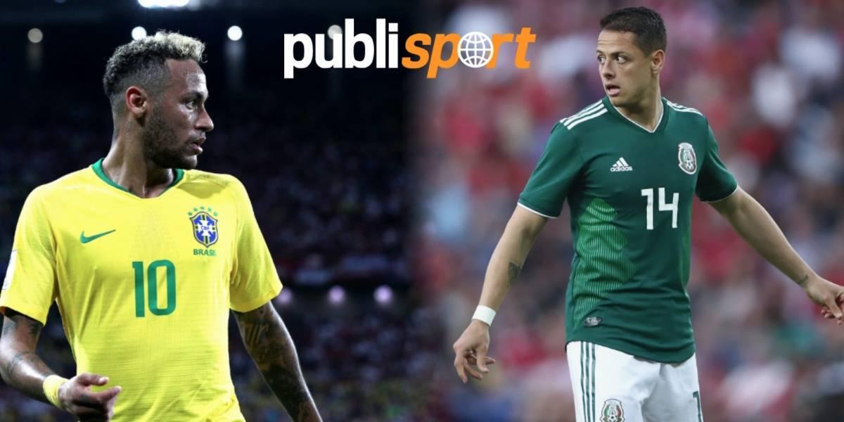 México enfrentará a Brasil en octavos de Rusia 2018