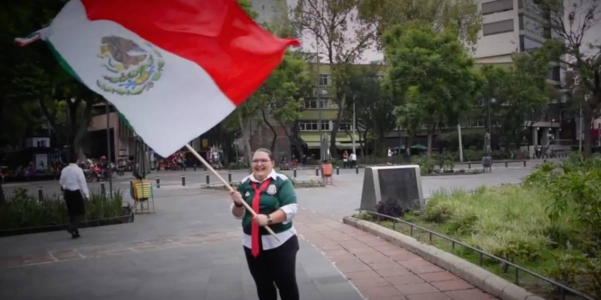 Alejandra Ley le canta a la Selección Nacional