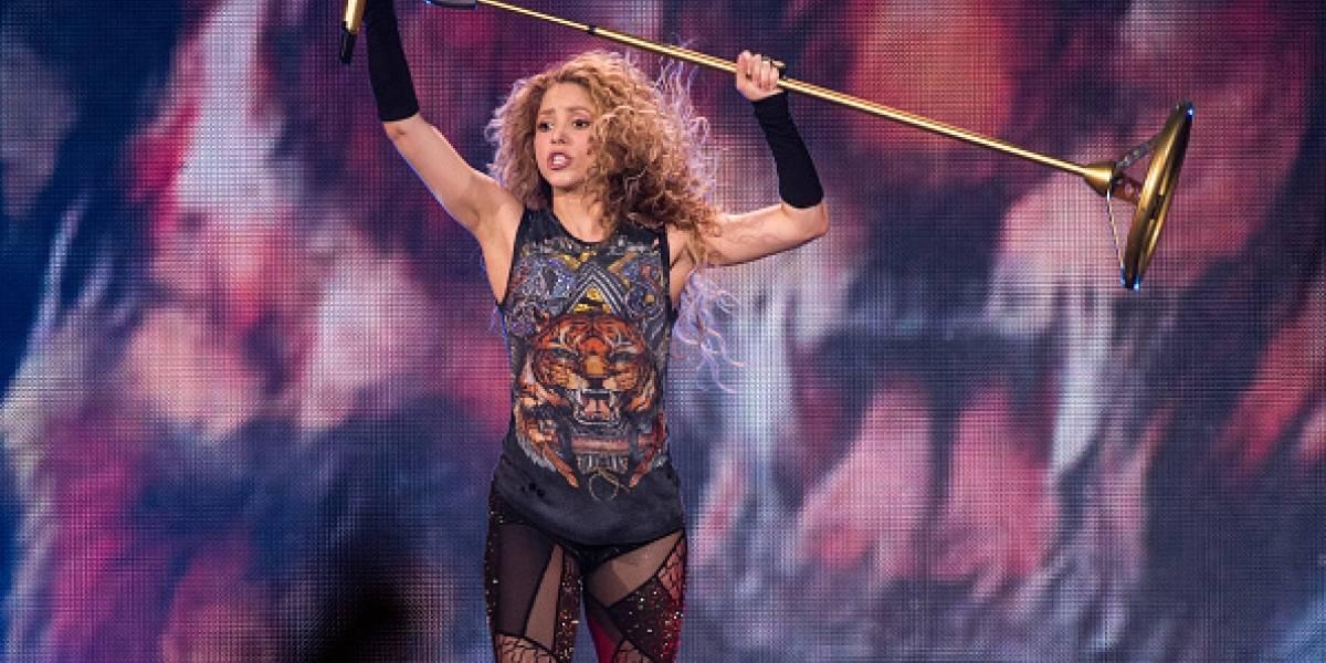 Shakira es tendencia por imágenes en las que luce diminuto bikini