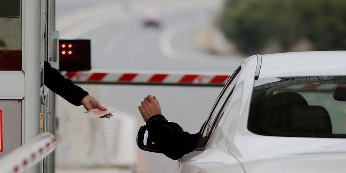 Telepeajes de autopistas: esta es la dura pena que anuncia Obras Públicas para quienes evadan el pago