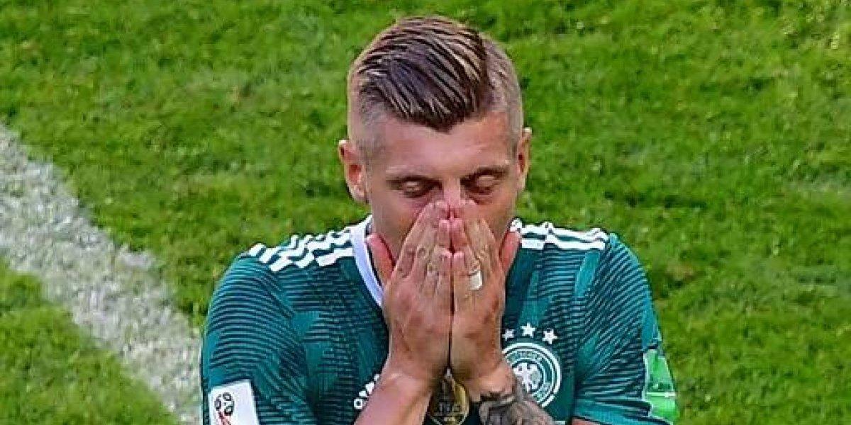 """Brasil se burla de la eliminación de Alemania y cobra """"venganza"""" por el polémico tuit de Kroos"""