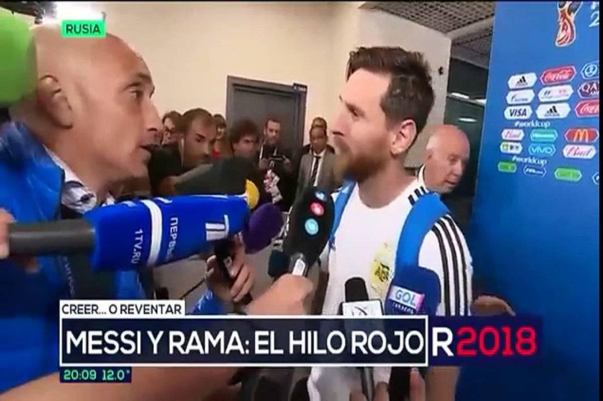 Messi Hilo Rojo